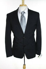 Bar III Mens Gray Two Button Wool Blazer Jacket Size 38 R