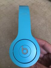 Beats by Dr. Dre Solo HD Headband Headphones - Teal/Light Blue - Works Great