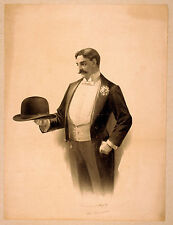 Photo Print Vintage Poster: Theatre Flyer 1800s Blank Unknown 19
