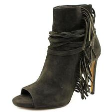Vince Camuto Ferdinand   Open-Toe Suede  Ankle Boot NWOB