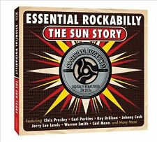 Essential Rockabilly:  Sun Story by Various Artists CD 2 Discs New! Ships fast!