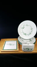 Corelle Callaway Green Ivy Luncheon Plates Trivet Napkin Holder Buy By The Piece