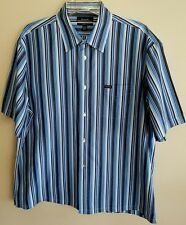 FACONNABLE PREMIUM 100% COTTON STRIPE MEN'S SHIRT NWOTS GREAT GIFT SZ XXL