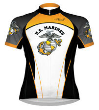 Primal Wear Marines Liberty Cycling Jersey USMC Womens short sleeve bicycle bike