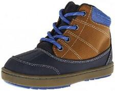 Boy's Toddler OSHKOSH LIAM2 Brown/Blue Casual Hiking Fashion Boots Shoes NEW