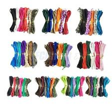 6 Colors 550 PARACORD Parachute Cord Rope Outdoor Sports Lanyard 5 Meters/pcs