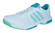 adidas Barricade Aspire STR Womens Tennis Sneakers / Shoes - White - AF4420
