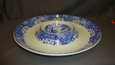 "Large Spode Italian 14.25"" Round Serving / Hors D'Oeuvre Dish"