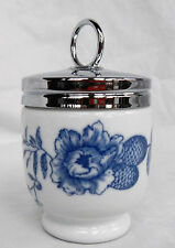 Royal Worcester Rhapsody Blue and White Size Egg Coddler