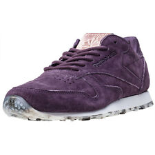 Reebok Classic Guilded Edge Womens Trainers Purple New Shoes