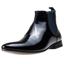 Ted Baker Hourb 2 Mens Chelsea Boots Black Leather New Shoes