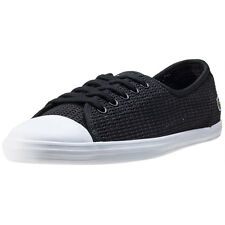 Lacoste Ziane 217 Womens Trainers Black New Shoes