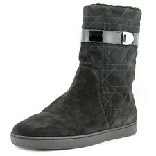 Dior Cannage Snow Furred Low   Round Toe Suede  Snow Boot