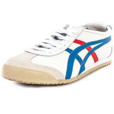 Asics Onitsuka Tiger Mexico 66 Unisex Trainers White Blue New Shoes