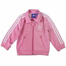 ADIDAS ORIGINALS CHILDREN FIREBIRD JACKET GIRLS TRACK SUIT TOP SPORTS ROSA