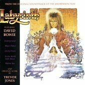 DAVID BOWIE in LABYRINTH FILM on CD 1986 Original Soundtrack by TREVOR JONES