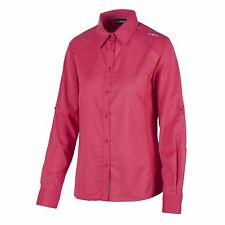 CMP Blouse Function top Shirt pink Collar Dryfunction Stretch
