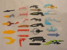 LEGO BIONICLE WEAPONS LOT Mixed Colors ~ 26 Pieces Parts