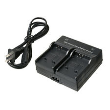 AT Dual Channel Digital Battery Charger For Olympus DLI92 SW μ9000 Camera