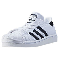 adidas Superstar C Kids Trainers White Black New Shoes
