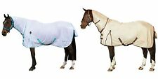 SAXON SOFT MESH COMBO ATTACHED NECK HORSE/PONY SOFTMESH FLY RUG/SHEET