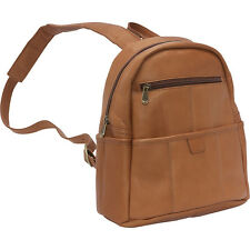 Le Donne Leather Quick Slip Womens Backpack 3 Colors Backpack Handbag NEW
