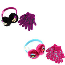 Disney Nickelodeon Girls Earmuffs and Gloves Set Dora and Friends Minnie Mouse