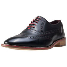 London Brogues George Mens Shoes Black New Shoes