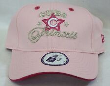 NEW Youth Kids Girls NEW ERA Pink Chicago CUBS Princess MLB Baseball Hat Cap