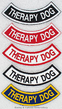 1 THERAPY DOG ROCKER PATCH Danny & LuAnns Embroidery service dog support