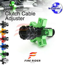 FRW 6Color CNC Clutch Cable Adjuster For Kawasaki Vulcan VN 750 94-01 96 97 98