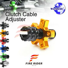 FRW 6Color CNC Clutch Cable Adjuster For Kawasaki Ninja 500R EX500 02-05 03 04