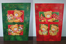 Christmas Cards - The one i love - 26cm x 18cm approx - Buy 1 Get 1 Free