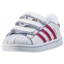 adidas Superstar Foundation Cf I Kids Trainers White Pink New Shoes