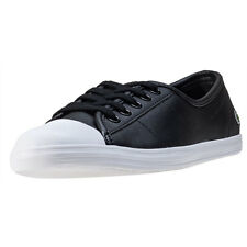 Lacoste Ziane Bl 1 Womens Trainers Black White New Shoes