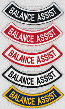 1 BALANCE ASSIST ROCKER PATCH service dog Danny & LuAnns Embroidery