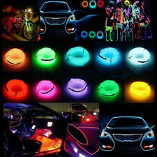 LED Light EL Wire String Strip Rope Glow USB Controller Decorative Neon Light