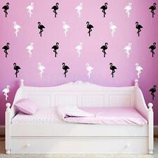 1 Sheet Flamingo Birds Removable Art Wall Stickers Home Bedroom Vinyl Decals