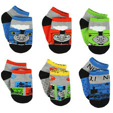Thomas and Friends Boys 6 pack Gripper Socks (Toddler) TE017DQS