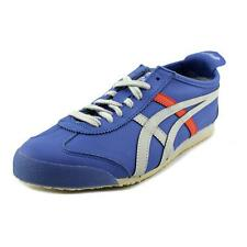 Onitsuka Tiger by Asics Rotation 77 Men  Leather Blue Fashion Sneakers NWOB