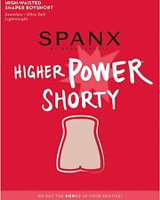 SPANX Higher Power Shorty - Black - CHOOSE SIZE NEW - $38.00 MSRP