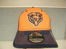 New Chicago Bears Mens Adult Unisex Fitted Sizes S/M-M/L-L/XL New Era Cap Hat
