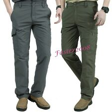 Ourdoor Mens Quick Dry Overalls Trousers Hiking Camping Climbing Sports Pants