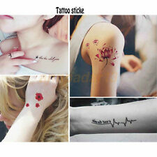 Removable Sleeve Arm Transfer Waterproof Temporary Tattoo Body Art Sticker