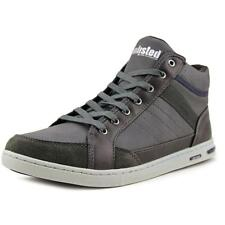 Unlisted Kenneth Cole Flew The Coop Men   Leather Gray Fashion Sneakers