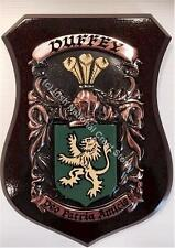 Baynes to Bentley Family Handpainted Coat of Arms Crest PLAQUE Shield