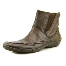 Ros Hommerson Claire Women SS Round Toe Leather Brown Ankle Boot