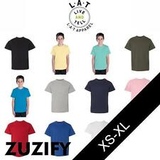 LAT Youth Classic Collection Combed Ringspun Cotton T-Shirt. 6180