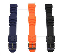 20mm Rubber Diver Watch Band Suits Seiko Monster SKX779 /781 SRP307 /309/311/313