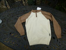 LADIES GLENMUIR1/2 LAMBSWOOL SWEATER SIZE XSMALL